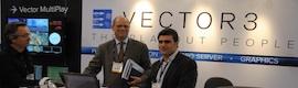 Multiplay de Vector 3 en el primer centro de recuperación de desastres de Vértice 360
