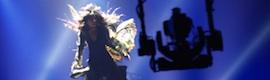 El Festival de Eurovisión vuelve a desplegar todo un escaparate tecnológico
