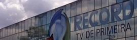 Rede Record amplía sus sistemas Orad de cara a Londres 2012