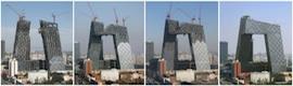 La nueva sede de la CCTV china, a punto para los Juegos Olímpicos de Londres