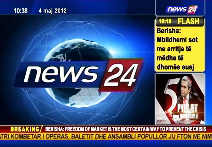 La Albanesa News 24 Basa Su Grafismo En Channel Box Y Lex