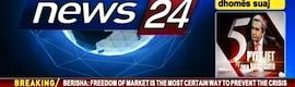 La albanesa News 24 basa su grafismo en Channel Box y Lex de Chyron