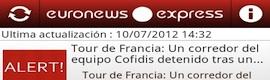Euronews Express, la aplicación ultraligera, ahora disponible en Google Play