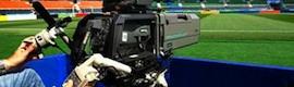 Más de 130 cámaras Grass Valley se emplearon durante la Euro 2012