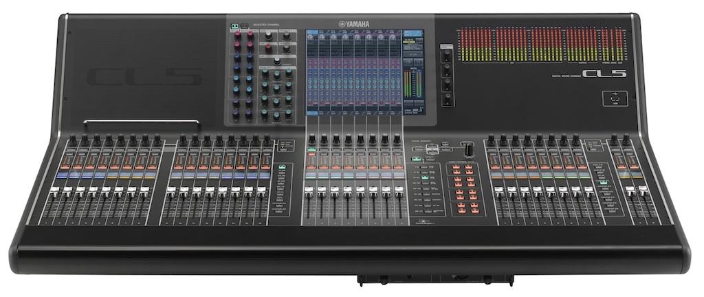 Las nuevas yamaha cl5 se estrenan con motivo de la eurocopa for Yamaha commercial audio