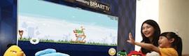 Samsung presenta su primer televisor de 75″ en 3D controlado por gestos