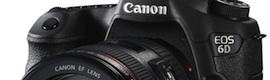 EOS 6D: Canon lanza su cámara réflex digital de formato completo más pequeña y ligera con grabación Full HD