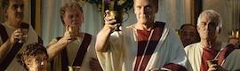 'Imperium': Antena 3 recrea en Cinecittà la pompa del imperio romano