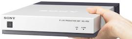 La solución de producción de directo IP NXL-IP55 de Sony lleva la HD a ITV News London