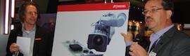 La red MediorNet de Riedel proporciona integración con las cámaras de Grass Valley