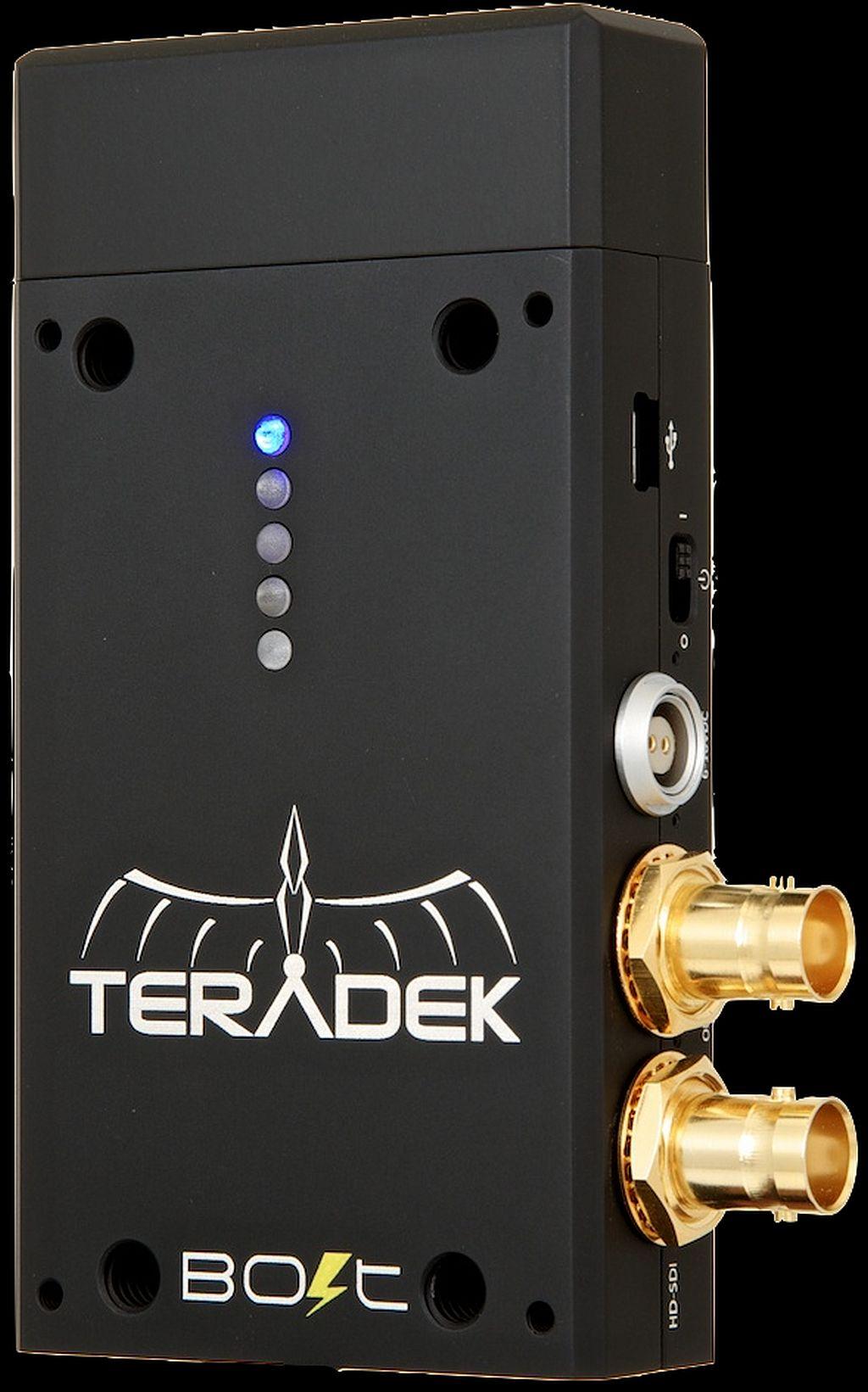 Teradek Bolt Wireless SDI: transmisión inalámbrica, ahora sin retardo