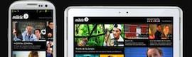 Mitele lanza una app para tablets y smartphones Samsung