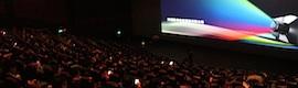Christie asombra a los exhibidores en Pekín con la primera demostración de proyección láser a 72.000 lúmenes