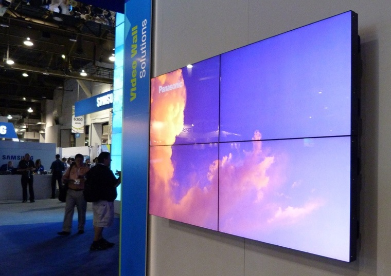 El primer display para videowall de Panasonic gran