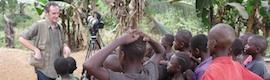 Ralph Hodgson rueda en Sierra Leona un documental con las Canon 1Ds y 5D, y trípodes Sachtler