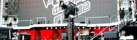 Furio ofrece un movimiento de planos único en la edición china de 'La Voz'