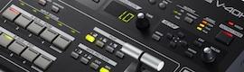 Roland V-40HD: un práctico mezclador de vídeo multiformato de cuatro canales