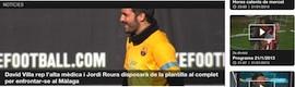 El canal Esport3 estrena su aplicación para tabletas