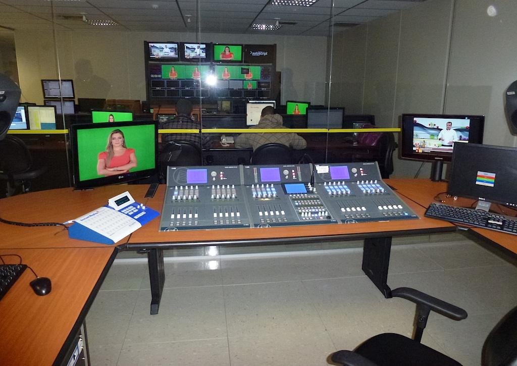 Sala De Tv Y Estudio ~ Brazilian TV Gazeta escolher AEQ Arena para seu novo estúdio de TV