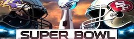CBS Sports utiliza cámaras de For-A e Ikegami en la gran cobertura de la Super Bowl 2013