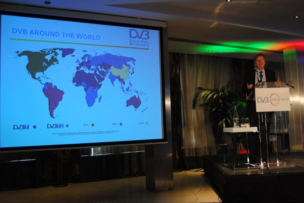 Phil Laven en DVB World 2013