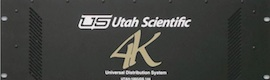 Utah Scientific anuncia una matriz 4K