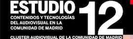Estudio 2012: Contenidos y Tecnologías del Audiovisual en la Comunidad de Madrid