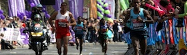 Eyeheight corrige el color del Maratón de Londres
