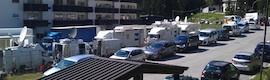 La RAI utiliza en el Giro de Italia las redes de Riedel para el transporte fiable y flexible de audio y vídeo