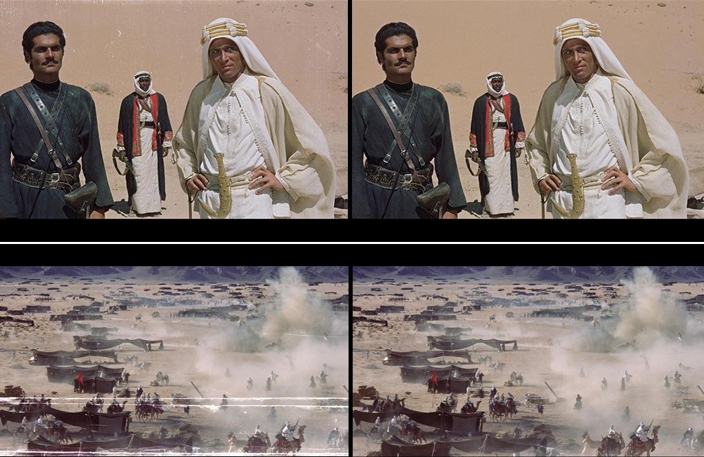 Lawrence de arabia restauracion