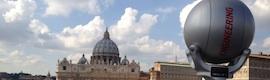 """La RAI """"vigila"""" al Vaticano con una Q-Ball de Camera Corps"""