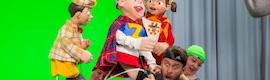"""DPA recoge el audio de actores y """"marionetas"""" en 'LazyTown'"""