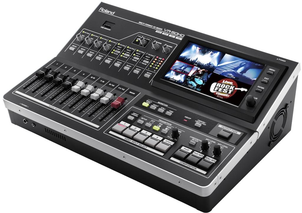 table de mixage streaming