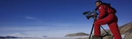 Alessandro Beltrame elige una cámara Panasonic y el trípode FSB 6:2 D de Sachtler para su último trabajo en la Antártida