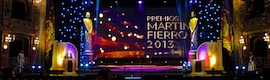 Prom TV realizó la transmisión de la señal de los Premios Martín Fierro para Telefe