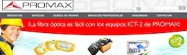 Nueva web de Promax Electrónica