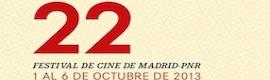 Arranca el 22º Festival de Cine de Madrid-PNR
