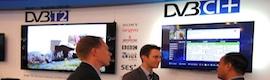 Primera demostración mundial de DVB-T2 4K con HEVC y servicios móviles en un solo canal