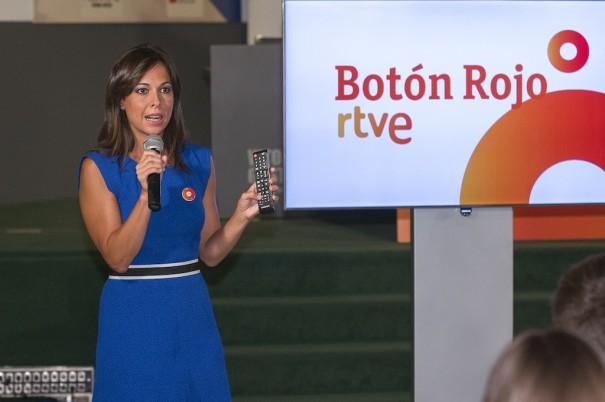 Mara Torres presenta RTVE Boton rojo