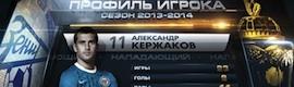Orad eleva el grafismo a un nuevo nivel en la Liga Premier Rusa