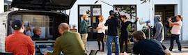La productora danesa Nimb Tv pone en marcha una curiosa móvil 4K… en un motocarro