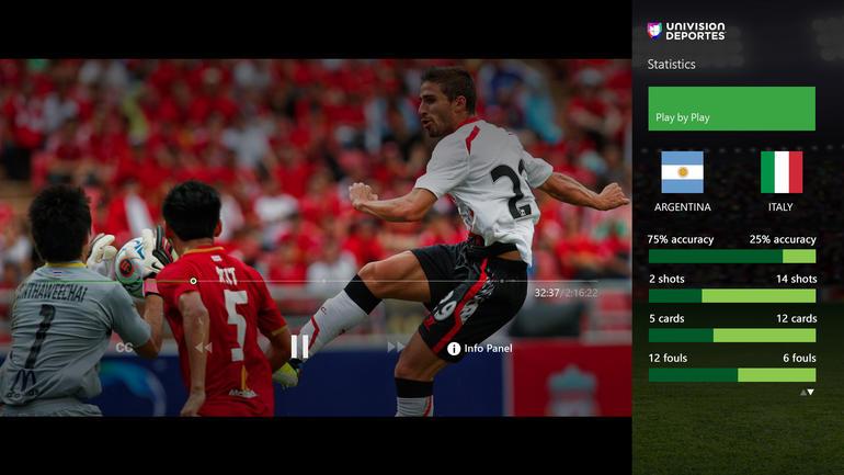 Univisión Deportes, ahora en Xbox One