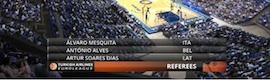 wTVision proporcionó cobertura gráfica a ESPN Brasil en el primer partido de la NBA en América del Sur