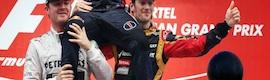Las Q-Balls recogen la emoción de Vettel en el Gran Premio de Estados Unidos