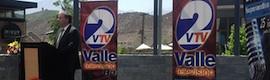 Egatel participa en las primeras transmisiones de televisión digital en Los Andes (Chile)