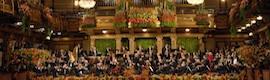 Millones de espectadores en 70 países siguen el concierto de Año Nuevo desde Viena