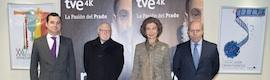 La Reina Sofía preside la presentación del documental de TVE en ultra alta definición 'La pasión del Prado'