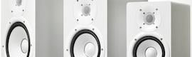 La gama de monitores de estudio HS de Yamaha, ahora disponible en blanco