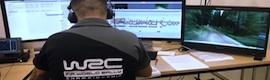 EVS agiliza la producción en el Campeonato Mundial de Rally 2014