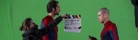 El makig of de cómo Iniesta, Valdés, Diego López y Arbeloa se convierten en Spiderman en un spot de Sony